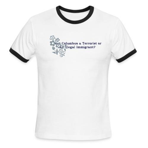 Columbus Ringer Tee - Men's Ringer T-Shirt