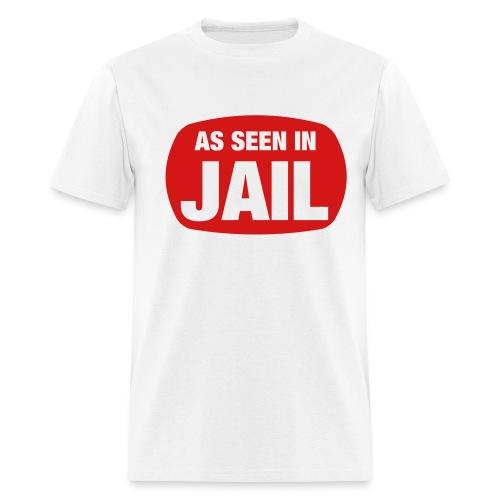 WHTSUSPECT SHIRT - Men's T-Shirt