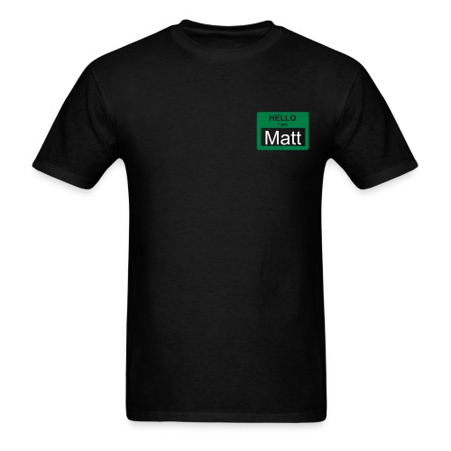 Nametag - Men's T-Shirt