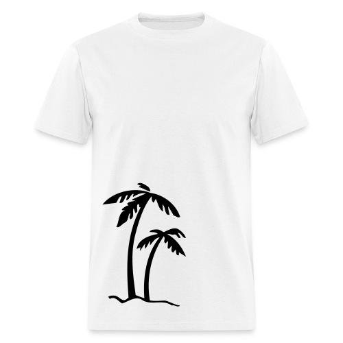 2 Large Palms - Men's T-Shirt