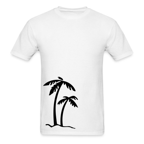 2 Large Palms - Men's T-Shirt