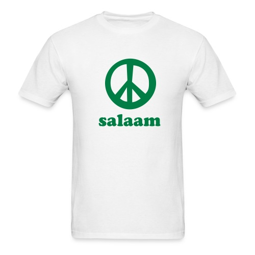 Salaam Peace T-Shirt Economy White - Men's T-Shirt