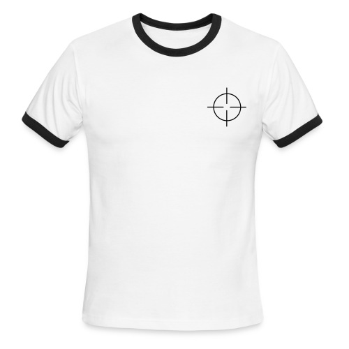 No War Crosshairs Mens Ringer Tee - Men's Ringer T-Shirt