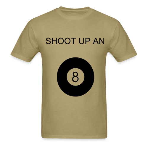 Shoot Up - Men's T-Shirt