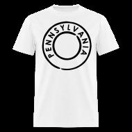 T-Shirts ~ Men's T-Shirt ~ Pennsylvania Represent Tee
