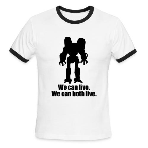 Les Aliens sont mes amis - Men's Ringer T-Shirt