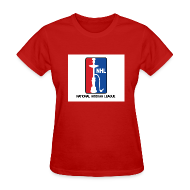 Women's T-Shirts ~ Women's T-Shirt ~ Women's National Hookah League (NHL) Tee