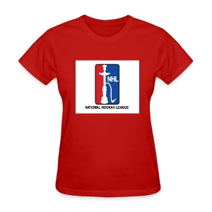 Women's National Hookah League (NHL) Tee - Women's T-Shirt