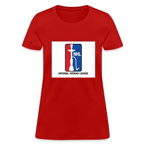 Women's National Hookah League (NHL) Tee - Women's T-Shirt