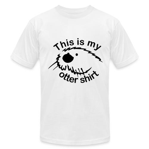 Otter -- Men's Shirt - Men's Fine Jersey T-Shirt