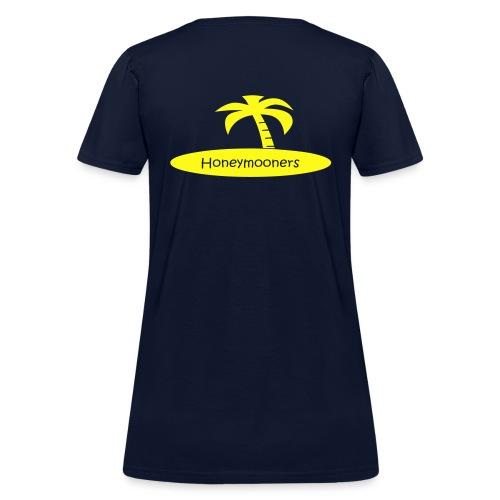 Honeymooners Palmtree - Women's T-Shirt