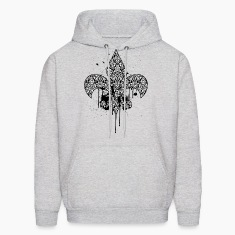 (damask_drips) Hoodies