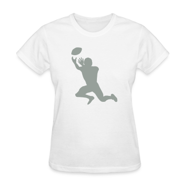 White football Women's T-Shirts