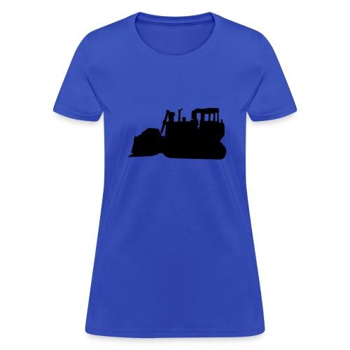 Bulldozer Blue/Black - Women's T-Shirt