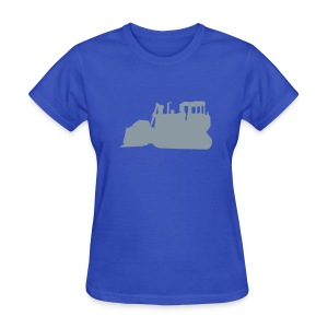 Bulldozer Blue/Silver - Women's T-Shirt
