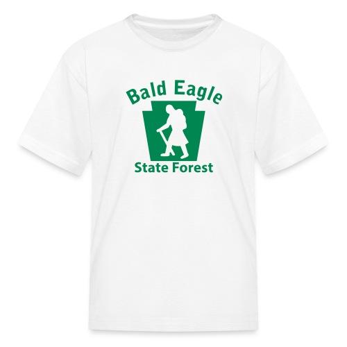 Bald Eagle State Forest Keystone Hiker (female) - Kids' T-Shirt
