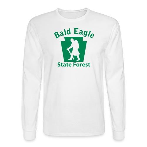 Bald Eagle State Forest Keystone Hiker (female) - Men's Long Sleeve T-Shirt