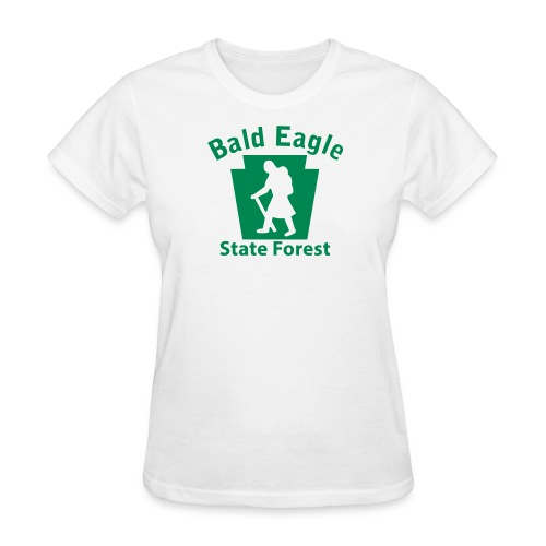 Bald Eagle State Forest Keystone Hiker (female) - Women's T-Shirt
