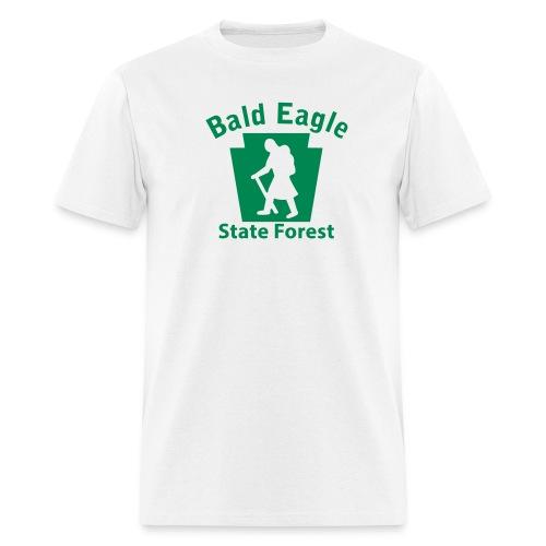 Bald Eagle State Forest Keystone Hiker (female) - Men's T-Shirt