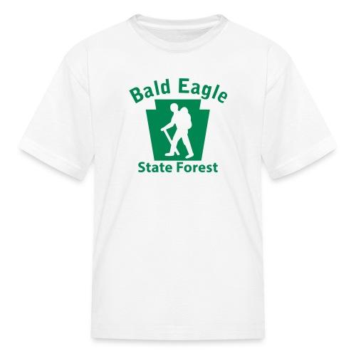 Bald Eagle State Forest Keystone Hiker (male) - Kids' T-Shirt