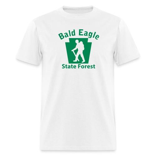 Bald Eagle State Forest Keystone Hiker (male) - Men's T-Shirt