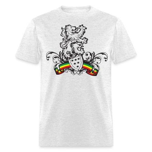 rasta sheild T - Men's T-Shirt