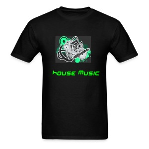 house music tee - Men's T-Shirt