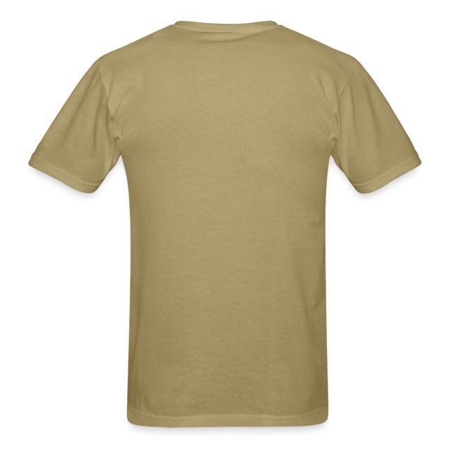 house music khaki tee