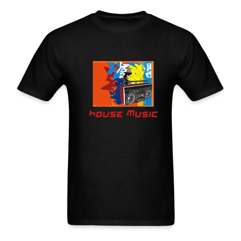 house music blaster tee - Men's T-Shirt