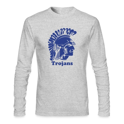 Tojan or Spartan Custom Team Jersey - Men's Long Sleeve T-Shirt by Next Level