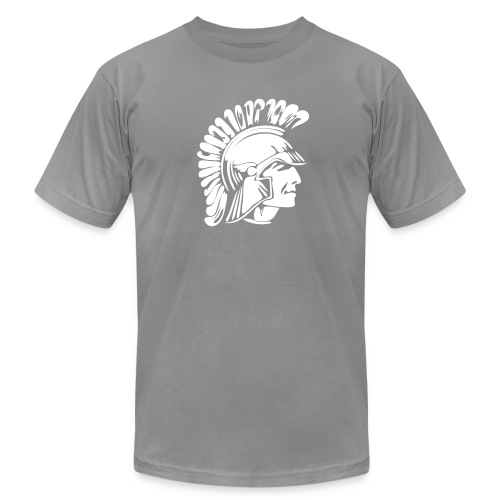 Tojan or Spartan Custom Team Jersey - Men's Fine Jersey T-Shirt