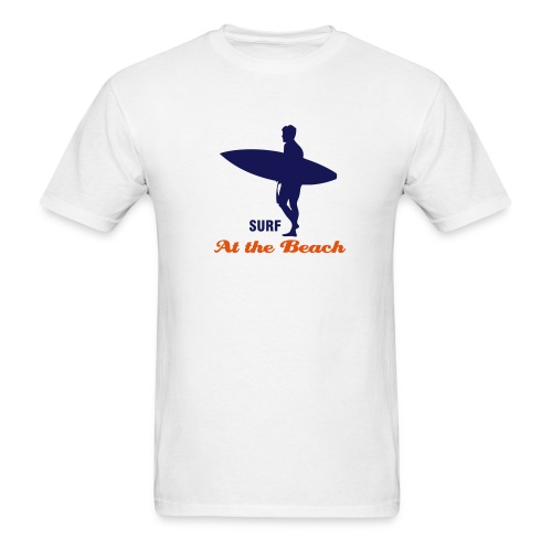 Surfer Surfing at the beach - Men's T-Shirt