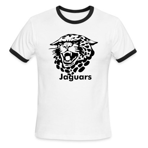 Custom Jaguars team Graphic - Men's Ringer T-Shirt
