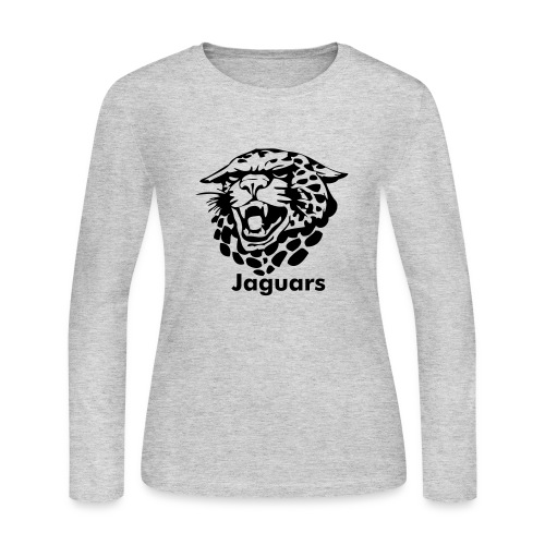 Custom Jaguars team Graphic - Women's Long Sleeve Jersey T-Shirt