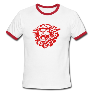 White/red jaguars T-Shirts