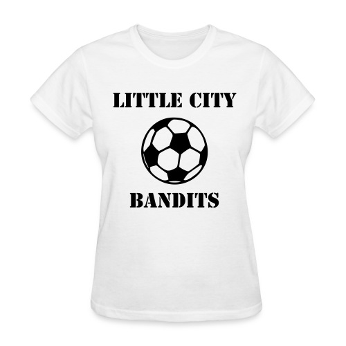 Women's LC Bandits Shirt (Black Text) - Women's T-Shirt