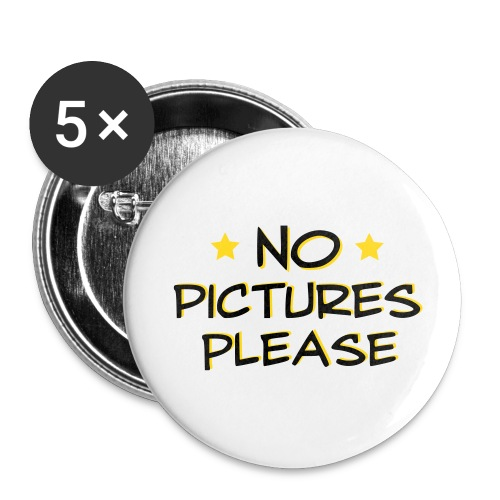No Pictures - Large Buttons