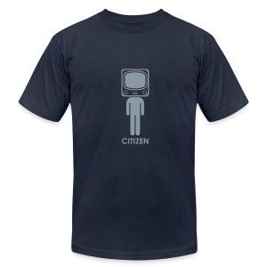 * CITIZEN TV * - Men's Fine Jersey T-Shirt
