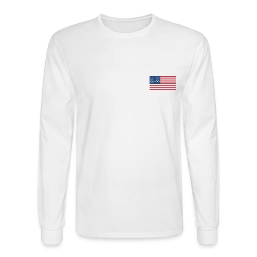 USA Longsleeve T Hanes - Men's Long Sleeve T-Shirt