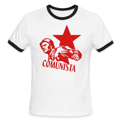 Comunista Ringer Tee - Men's Ringer T-Shirt