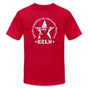 EZLN Zapatistas Jersey Tee Shirt - Men's T-Shirt by American Apparel