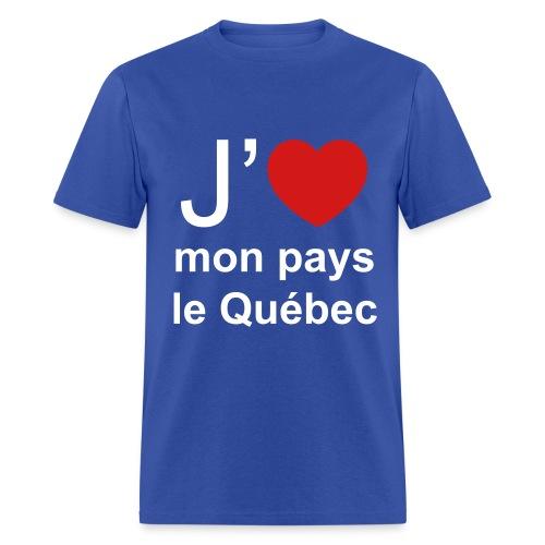 T-Shirt 100% Pro-Québec! - Men's T-Shirt