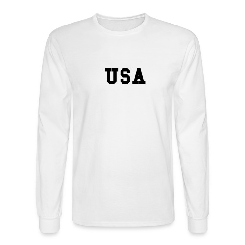 Pledge of Allegiance - Men's Long Sleeve T-Shirt