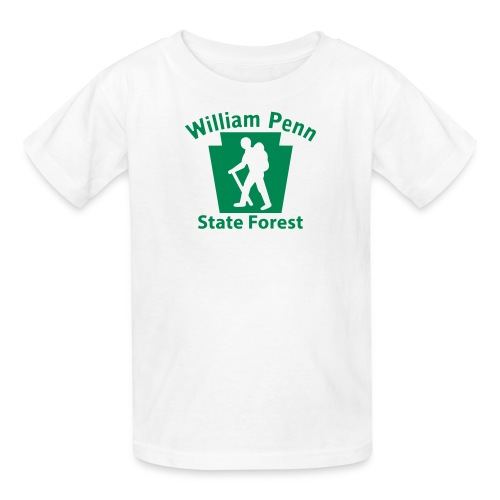 William Penn State Forest Keystone Hiker (male) - Kids' T-Shirt