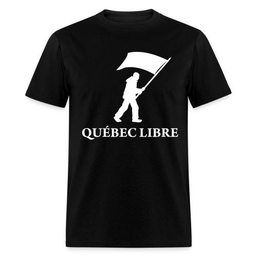 T-Shirt Québec Libre - Men's T-Shirt