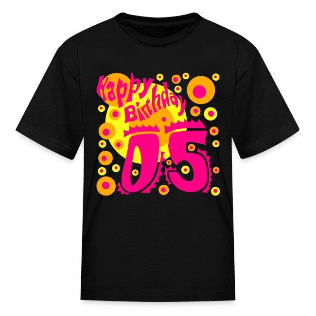 Birthday Shirt 5 Years