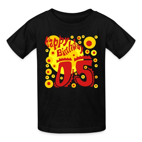 Birthday Shirt 5 Years