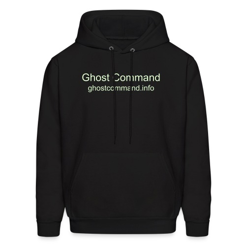Ghost Command Glow in the Dark Men's Hooded Sweatshirt - Men's Hoodie