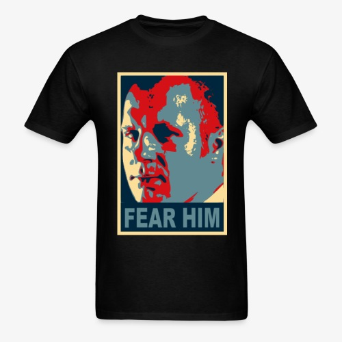 FEDOR EMELIANENKO T SHIRT FEAR HIM MMA UFC - Men's T-Shirt