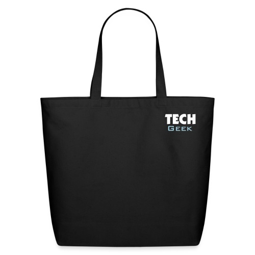 Tote - Tech Geek Carry All (Blue) Eco - Eco-Friendly Cotton Tote